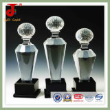 Popular New Design Crystal Trophy Award for Souvenir Gift (JD-CT-302)