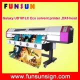 Galaxy Ud1812LC Outdoor Large Format Vinyl Banner Printing Machine (1.8m, 1440dpi, two DX5 head, economic and good quality)