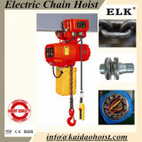 1ton Double Speed Chain Electric Chain Hoist Crane Lifter with Electric Trolley