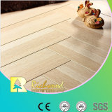 12.3mm E0 HDF AC4 Crystal Cherry Waxed Edged Laminated Flooring