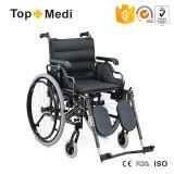 Topmedi Aluminum Lightweight Folding Wheelchair