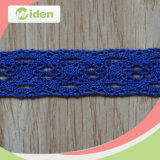 Decorative Lace Trim Blue Handmade Indian Fabric Lace for Garment