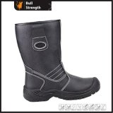 Genuine Leather Upper Safety Rigger Boot with PU Injection (SN2012)