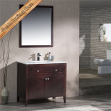 Fed-1960 36 Inch Elegant Solid Wood Quartz Top Modern Bathroom Furniture
