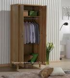 Durable Bedroom 2 Door Melamine Wardrobe Closet Furniture
