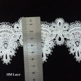 Hollow out Polyester Edging Lace Trim, Decorative Water Soluble Lace Trim for Sewing