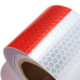 3m White/Red Reflective Safety Warning Conspicuity Tape in Roll