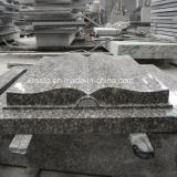 Own Factory European Book Style Granite Tombstone