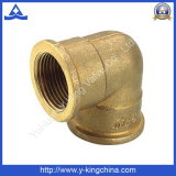 Female Elbow Brass Pipe Fitting with Brass Color (YD-6027)
