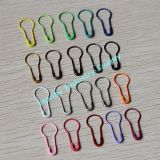 22mm Colored Pear Bulb Gourd Shaped Metal No Loop Coilless Safety Pin for Hang Tags (P160301D)