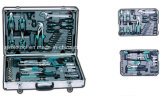 114PC Combination Tool Box with Ratchet Spanner Set