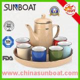 European Style Enamel Tea Set