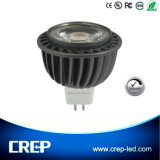 High Power 8W AC/DC12V Dimmable COB LED Spotlight MR16 Gu5.3