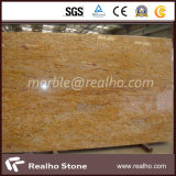 Polished Colorado Gold Granite Slabs for Countertop/Vanity Tops