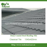 Colored Stone Coated Steel Roof Tile (Classical Type)