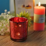 Laser Pattern Candle Holder with Color Painted