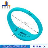 Silk Screen Waterproof RFID Silicone Wristband