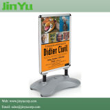 70*100cm Outdoor Swing Sidewalk Sign a-Board Poster Stand