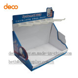 Cardboard Counter Display Box Counter Display Case with Hook