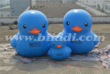 Air Tight Advertising Inflatable Blue Duck Factory Price K2084