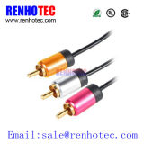 High Quality 3RCA Audio Video AV Cable RCA Cable
