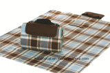 Low Price Check Pattern Polar Fleece Waterproof Picnic Mat