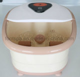 Auto Heating Foot SPA Massager with Red Light mm-8858