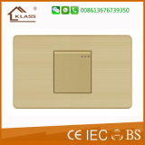 Home Electric 1gang 1 Way Small Button Wall Switch