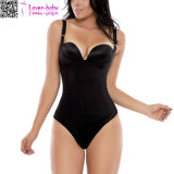 Plus Size Latex Thong Body Shaper with Full Back L42715