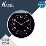10 Inch Round Shape Alumnium Analog Wall Clock