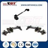 Obt Light Duty Rubber Torsion Axle with Mechanical Drum Brake