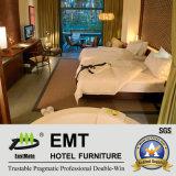 Star Hotel Wooden Double Bed Room Furniture Set (EMT-HTB08-4)