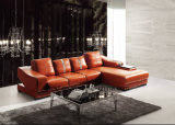 New Design Living Room Furniture Modern Leather Sofa (UL-NS380)