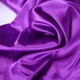 100% Polyester Bridal Satin Fabric/Matt Satin Fabric/Dull Satin