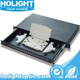 24 Ports 19 Inch Simplex Fiber Optic Patch Panel