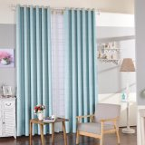 European Popular Modern Style Blackout Jacquard Window Curtain (02F0027)