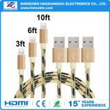 Mobile Phone Accessories Braid Charging/Transfer USB Cable