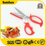 Multi-Function Stainless Steel Kitchen Crab Seafood Cutting Scissors
