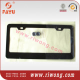 Matte Black License Plate Frame with 2 Holes