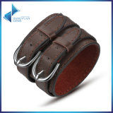Wide Personalized Wrap Bracelets Leather Jewelry