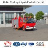 2500L Isuzu 4*2 LHD Rhd Chassis Water Fire Truck Euro4