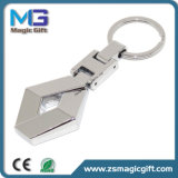 High Quality Customized Metal Keychain with Silver Finished