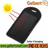 5000mAh Waterproof RoHS Solar Cell Phone Charger Power Bank with Emerency LED Torch