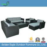 Rattan Furniture Sofa Set with Footrest