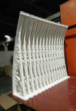 Decorative Outer Canopy Designs for Doors Window Shade with 100% New PC Material