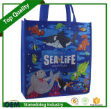 Custom Facotry Promotion and Full Color Non Woven Shopping Bag