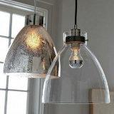 Industrial Glass Pendant Lights with Minimalist Design