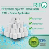 Three Proof Tickets Labels by Thermal Transfer BOPP FDA Authenticated