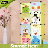 DIY Utility Folding Kids Storage Box Wholesale Plastic Cabinet