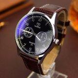 311 Yazole Branded Leather Strap Men Wrist Watch Cheap Wholesale Quartz Watch